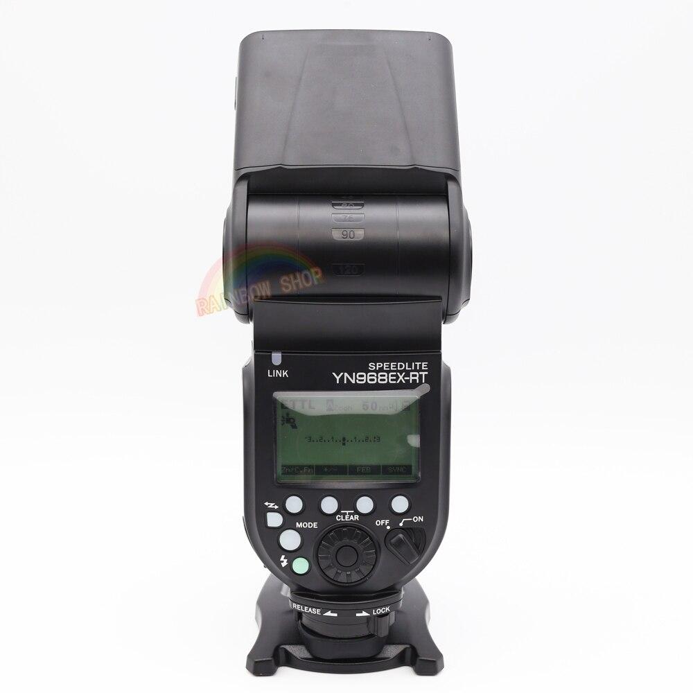 YONGNUO YN968EX-RT Flash TTL Sans Fil Caméra Speedlite YN968EX RT Maître pour Canon 650D 100D 1100D 580 Soutien YN-E3-RT YN600EX