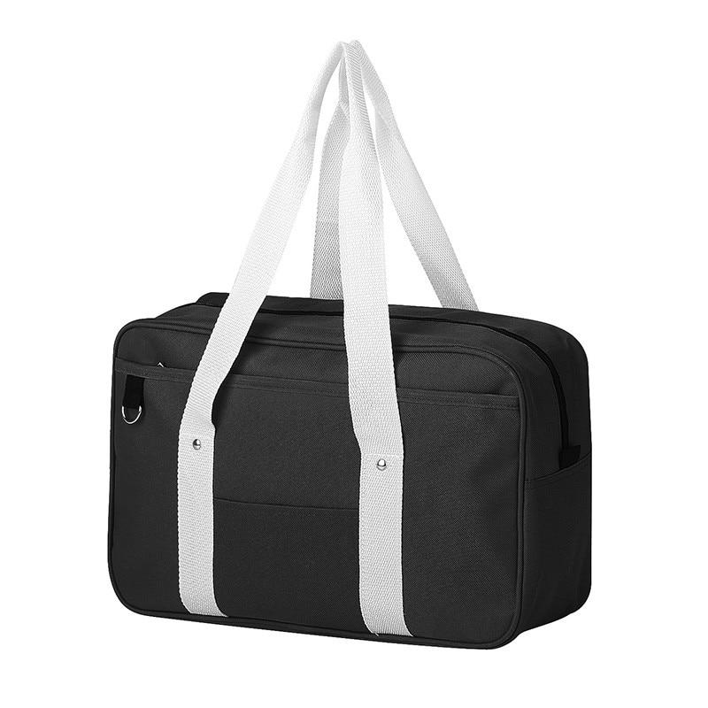 4d303cb4f5fd Simple style Japanese Style JK Uniform Cosplay Handbag Brand Fashion Oxford  Shoulder Bag High School Students Bookbag Travel bag-in Top-Handle Bags  from ...