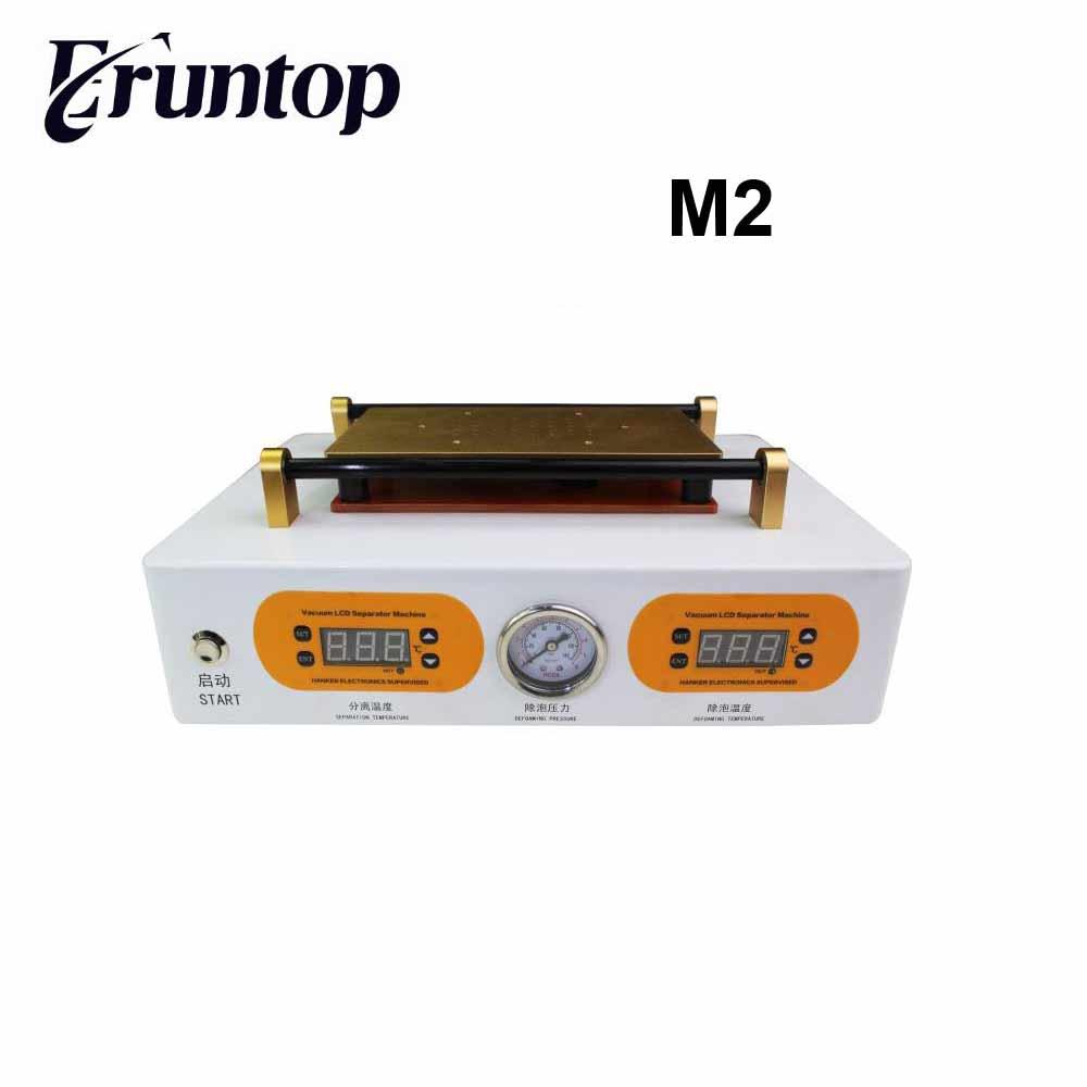 LCD OCA 2 dans 1 Bubble Retrait Machine Mini Autoclave OCA Adhesivler + 7 pouce Vide Écran L'autocollant Séparé M2 debubbor