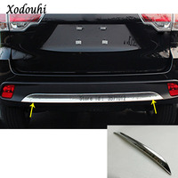 For Toyota Highlander 2015 2016 2017 car body cover styling protection bumper ABS trim stick rear back tail bottom hood pedal