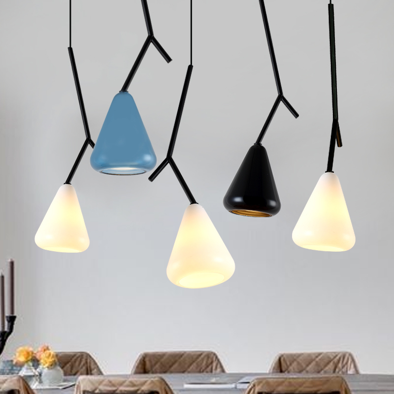 modern Art 1/3 heads pendant light glass+iron blue white black dining room bedroom designer pendant llamps ZA91310 battlefield 3 или modern warfare 3 что