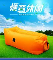 Square Air Self Inflated Bean Bag Chair American Style Regional Style And Living Room Sofa Specific
