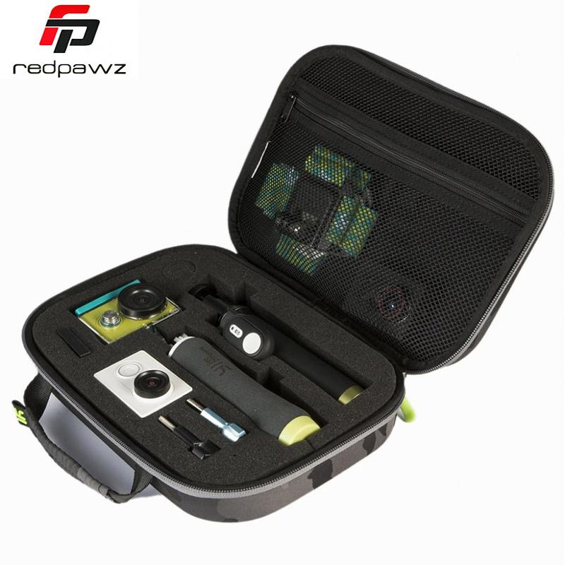 Prix pour 100% d'origine xiaomi yi recueillir sac étui de transport pour xiaoyi yi 4 k camera action/yi action sports caméra 1 et 2 yi accessoires