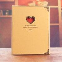 Горячая DIY Фотоальбом любителей подарок на день рождения свадебные фотографии детские фото ablum записки Изделия из бумаги Polaroid альбомы stick