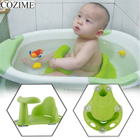 COZIME Baby Seat Safety Chair Bathtub Anti Slip Plastic Kids Mat Cushion Portable Non slip Pad Children Bath Tub Baby Care Drop