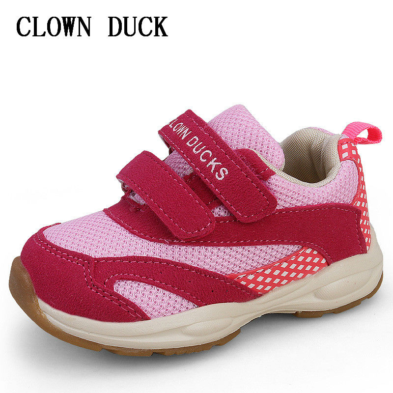 Children Shoes Breathable Mesh Cloth Girl Running Sports Shoes For Kids Sneaker Is Suitable For Baby Toddler Children Shoes in Sneakers from Mother Kids