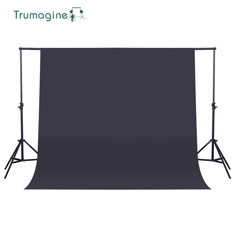 1 6 4M 5 2 13ft Black Screen Photo Background Photography Backdrops Chroma key Background For Photo Studio Non woven Fabrics in Background from Consumer Electronics
