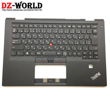 Palmrest-Cover Thinkpad Lenovo Backlit-Keyboard Japanese for X1 Carbon 4th-Gen 4-Mt:20fb