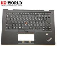 New Original for Lenovo Thinkpad X1 Carbon 4th Gen 4 MT: 20FB 20FC Japanese Backlit Keyboard with Palmrest Cover 01AV181 01AV220