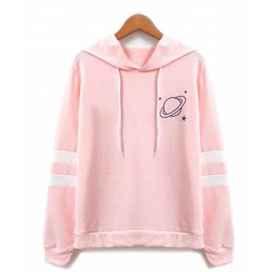 Hoodies & Sweatshirts 2019 Spring Narwhal Hodies Hooded Long Sleeve Cartoon Cute Printed Girls Whale Sweatshirt Autumn Bow Pullovers Female Kawaii Vp