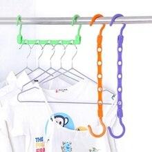 Creative hanger plastic home easy hook wardrobe storage rack hook hanger