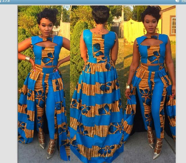African Clothing Africa Bazin Riche Dresses 2018 Women Clothing For ...