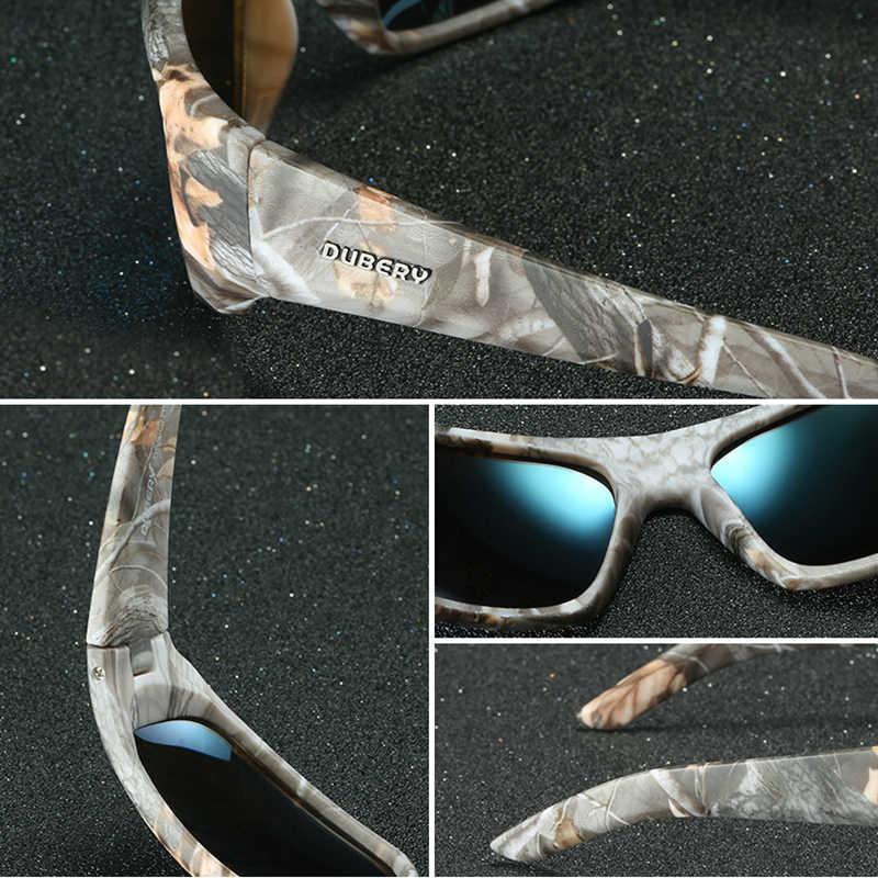 DUBERY Marke Design männer Gläser Polarisierte Nachtsicht Sonnenbrille männer Retro Männlichen Sonne Glas Für Männer UV400 Shades