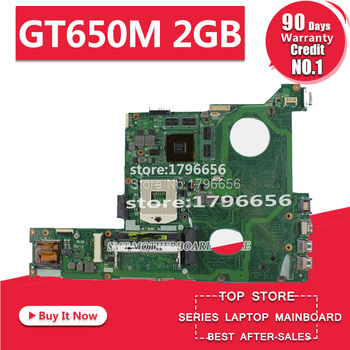 Original for ASUS N46VZ N46V N46VJ N46VM N46VV N46VB GT650M 2GB motherboard DDR3 Non-integrated fully test ok before shipping