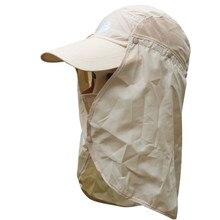 Lumiparty Sun Hats Outdoor Fishing Sports Cap 360 Degree UV Proof Caps Quick Dry Materials Summer Beach Cap Hats