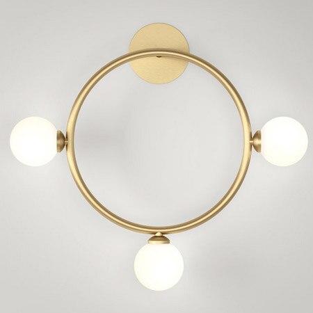 modern gold brass Wall lamp fixture E27 Loft american retro vintage iron light fixture 40W Antique lamp industrial AC90-260V rivoli satiro wave w c 2xe14 40w antique brass 10
