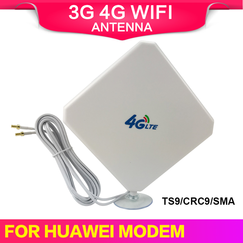 3G 4G LTE Antenna SMA CRC9 TS9 Connector Wifi Signal Booster Antenna 35dBi Indoor 4G Internet Receiver For Wireless Modem Router