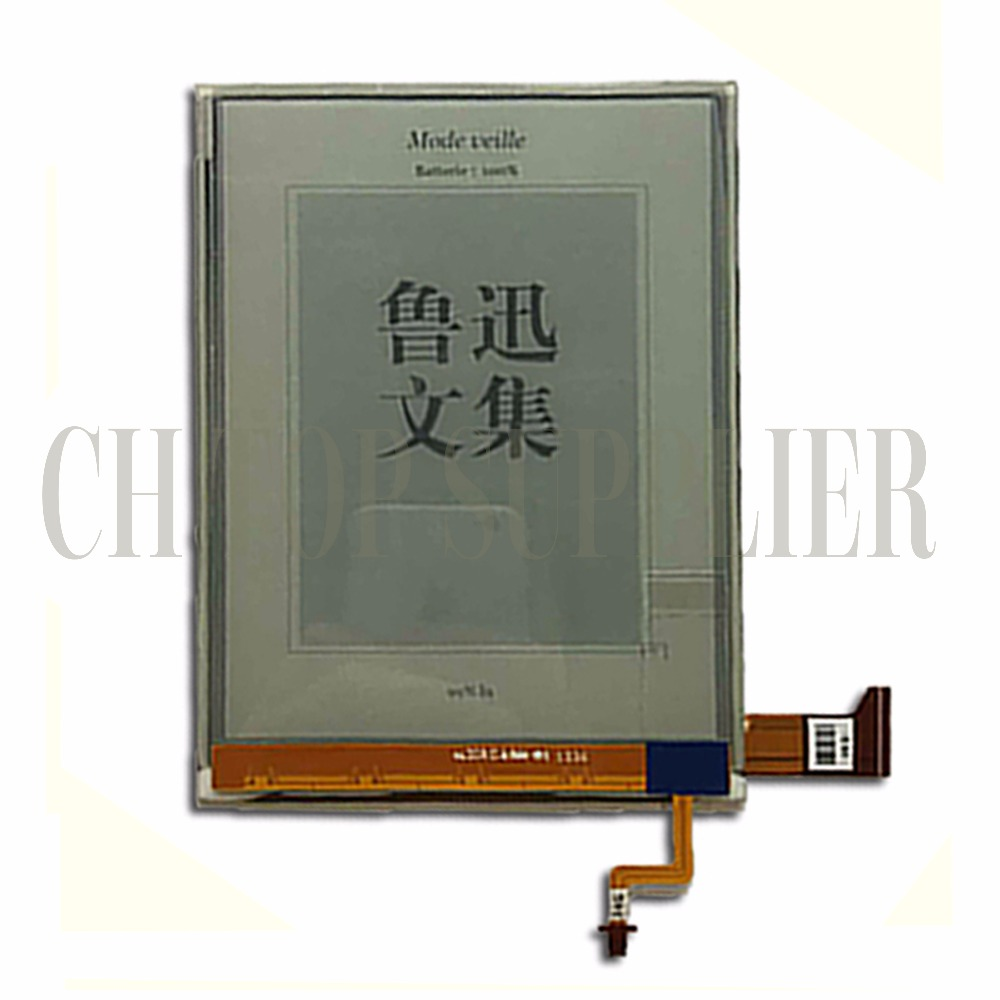NEW Original E-Ink ED060XG1(LF)T1-11 ED060XG1T1-11 768*1024 HD XGA Pearl Screen For Kobo Glo Reader Ebook eReader LCD Display 6inch e ink ebook ereader ed060xg1 lf t1 11 ed060xg1t1 11 768 1024 hd xga pearl screen for kobo glo reader lcd display
