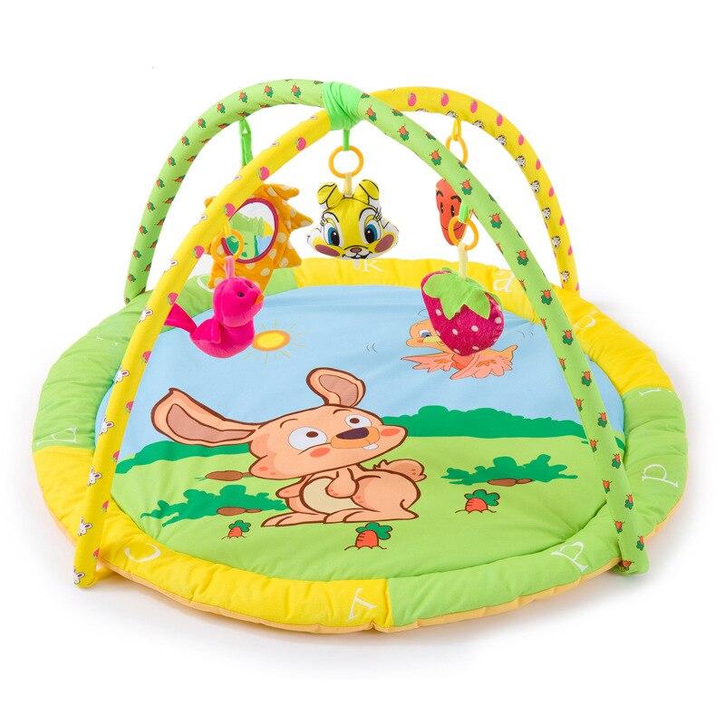 Fun lapin tirer radis animaux bébé jouer tapis nouveaux arrivants bébé jouet éducatif Sports ramper tampons jouer activité Gym couverture