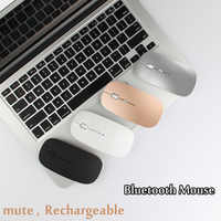 Ratones silenciosos recargable ratón Bluetooth para Samsung Galaxy Tab S5E S3 S2 S4 4 3 2 9,7 De 10,1 de 10,5 A6 S E 9,6 8,0 tableta portátil