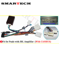 SMARTECH For Toyota CANBUS Box If Your Original Car With Amplifier JBL System You Need Add