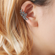 vintage ear cuff earrings for women clip on flower earcuff cuffs earings