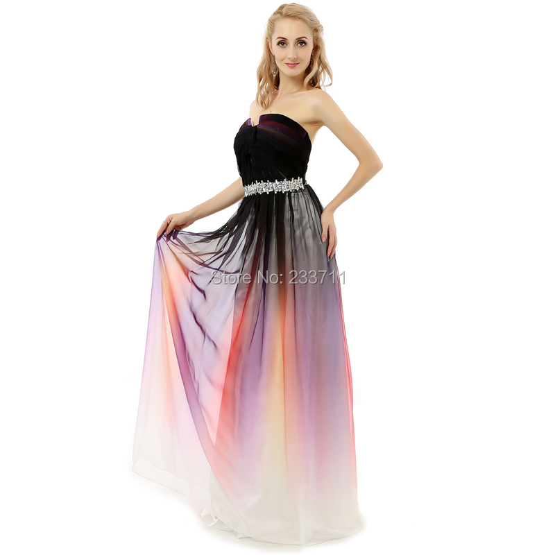 Online Get Cheap Long Rainbow Prom Dresses -Aliexpress.com ...