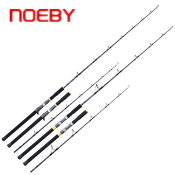 NOEBY INFINITE 1.68m Spinning Fishing Rod L/M Power Carbon Fiber Slow Jigging Fishing Rod 2 Sections PE3-5#/4-6# FUJI Guide Ring