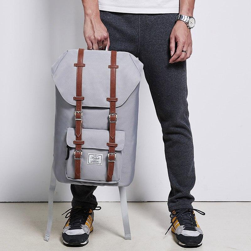 KALIDI Brand 15 6 inch font b Laptop b font Backpack Men Backpack Bag 15 6