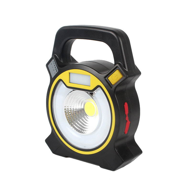 Portable 15W COB LED Flood Lights Outdoor Spotlight Floodlight USB Rechargeable 18650 Led Work Light Camping Security Tent Lamp cob led flood light dimmable 100w portable led floodlight cordless work light rechargeable spot outdoor working camping lamp