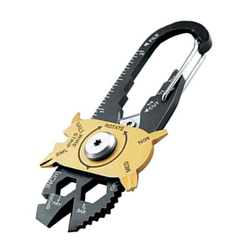 20 in 1 Gadget Portable EDC Portable Mini Utility FIXR Pocket Multi Tool Keychain Key Ring