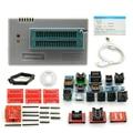 TL866CS programador 21 adaptadores AVR TL866 Bios PLCC IC MCU Flash EPROM Programmer