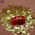V23 800 unids / iot en forma de cruz rebanada del Metal de oro Nail Art DIY diseño decoraciones del teléfono móvil cubierta del ordenador portátil Case decoración