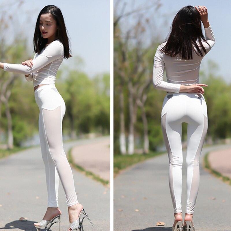 Legging transparent panties ass calcinha aparece 463 - 2 part 2