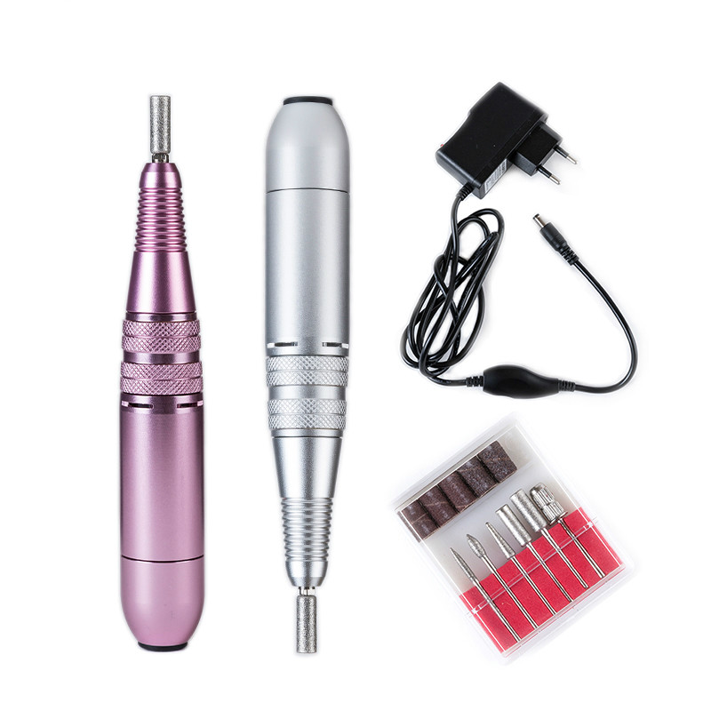New 25000rpm 110-240V Metal Portable Easy to Operate Pen Shape Electric Nail Drill Machine For Pro Nail Equipment factory wholesale pricemicro percussion marking machine metal engraver equipment hand held type easy move and operate