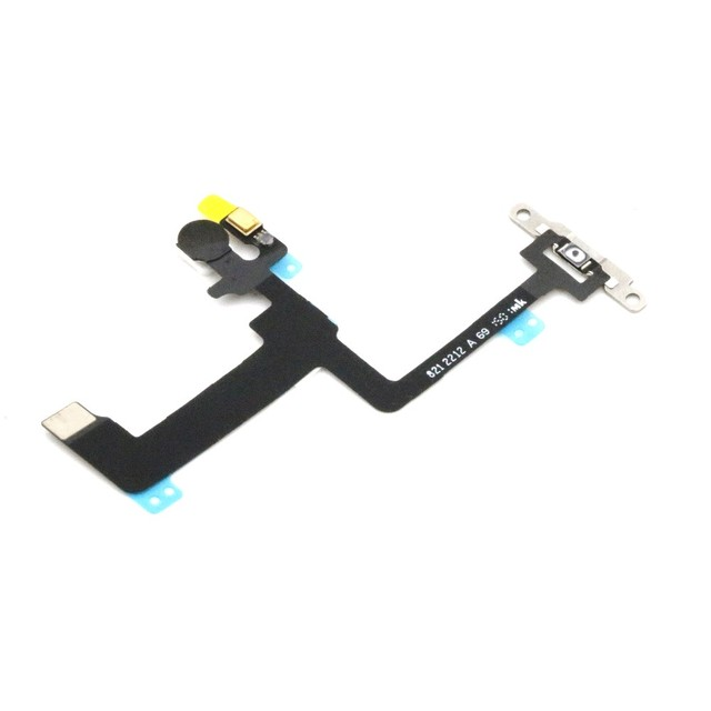 innovative design 90e5e 3d6b0 US $5.57 7% OFF|Switch On Off Power Button Flex With Metal Cover Bracket  Assembly Replacement for Apple iPhone 6 plus 5.5