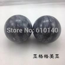 Natural jade sand waves handball gifts essential health care to share the ball
