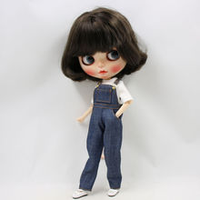 Neo Blythe Doll T-Shirt With Overall