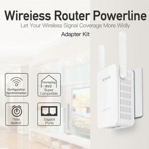 Image 3 - 1Pair Tenda PH15 1000Mbps Powerline Ethernet Adapter,PLC Network Adapter,Wireless WIFI Extender,Homeplug AV,Plug and Play