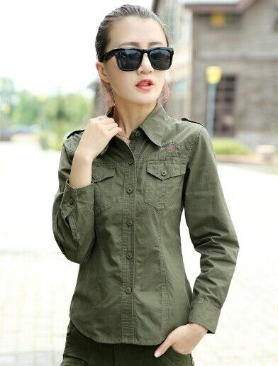 Popular Women Green Army Shirt-Buy Cheap Women Green Army Shirt ...