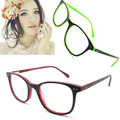 New fashionable frames for optical glasses women oval red frame glasses with spring hinge oculos masculino de grau B041200