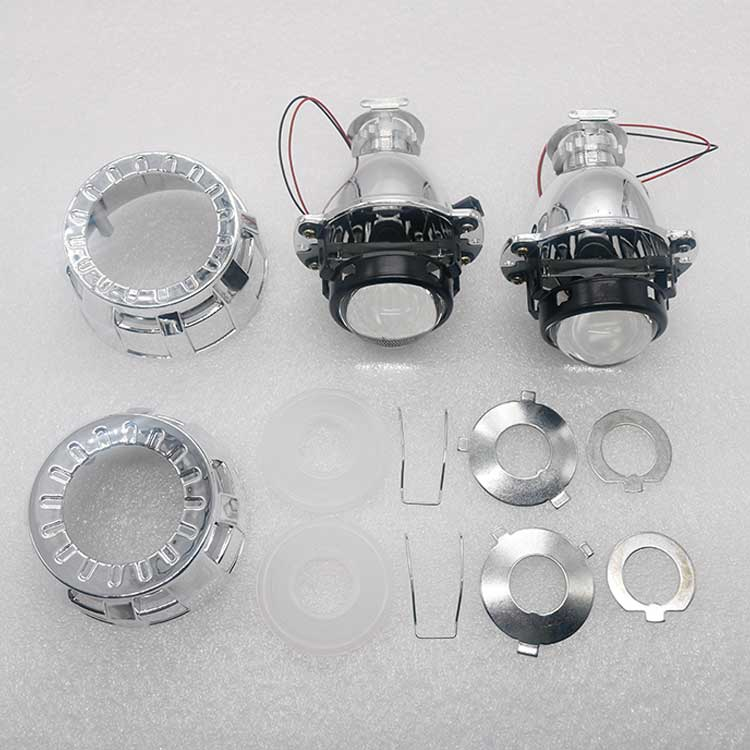 Бесплатная доставка HID лампы Биксеноновые линзы для проектора набор 1,8 дюйма маленький размер с маской и B маска для h1 светодиодные фары HID лампы|projector lens kit|projector lensbi-xenon projector lens | АлиЭкспресс