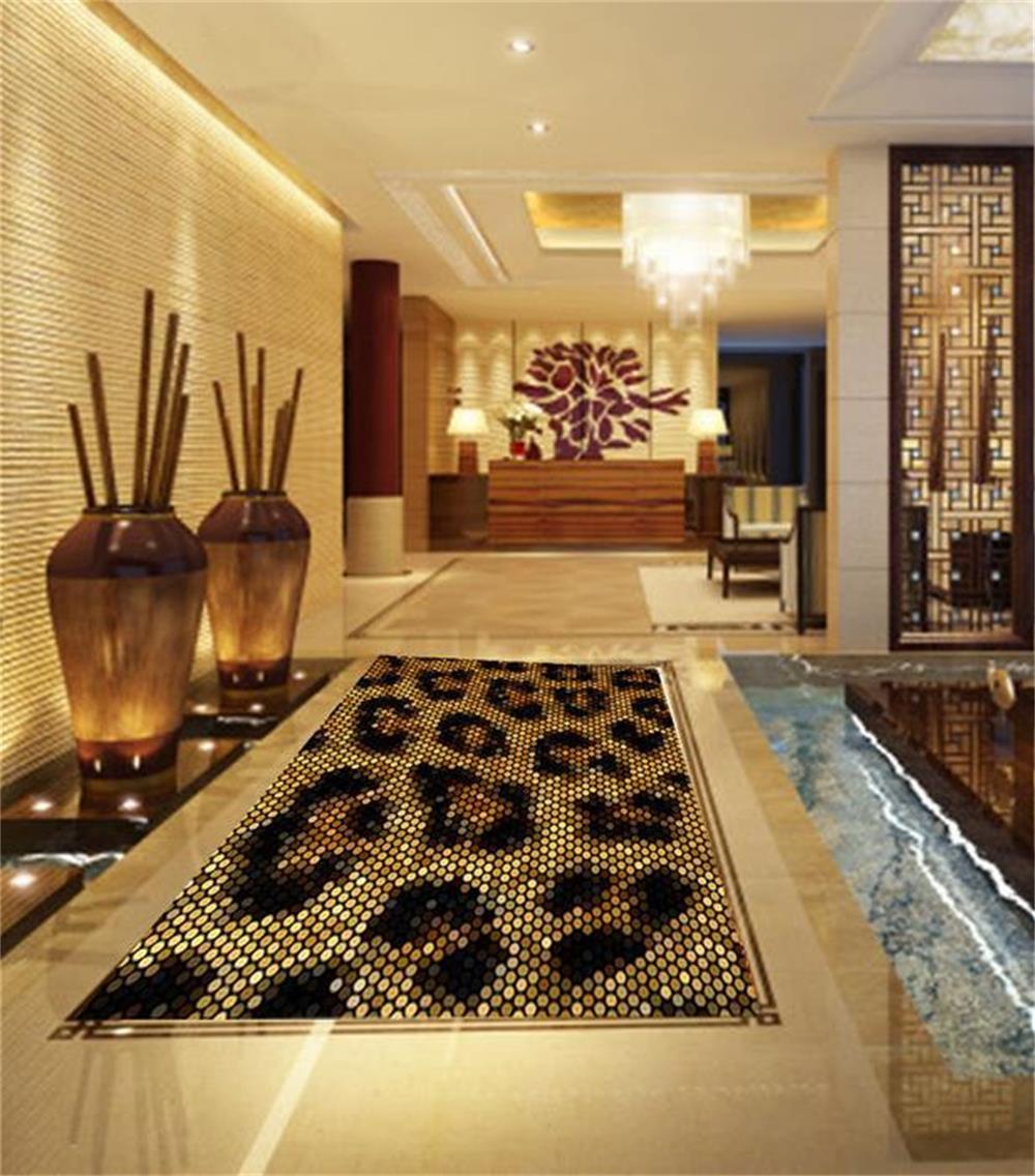 Online kaufen gro handel pvc boden aus china pvc boden for Bathroom 3d wallpaper