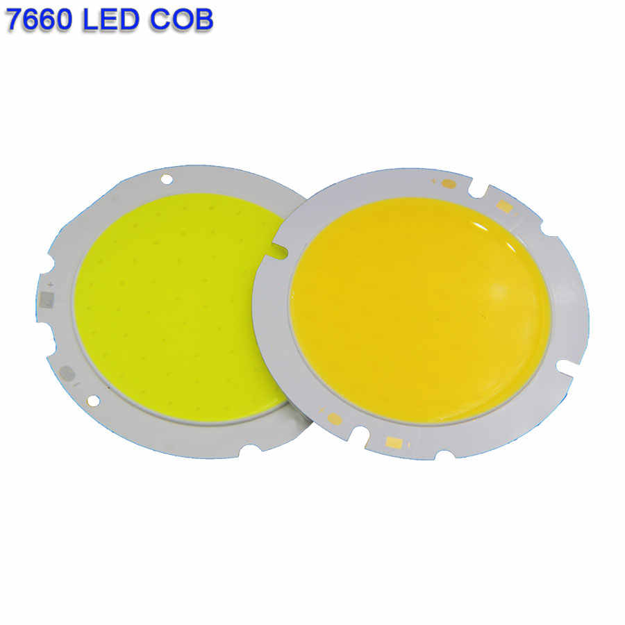 3W-200W Rounded LED COB Chip On Board Light Source Warm Natural Cold White 20-160MM Circular DC LED Lamp COB Bulb for DIY