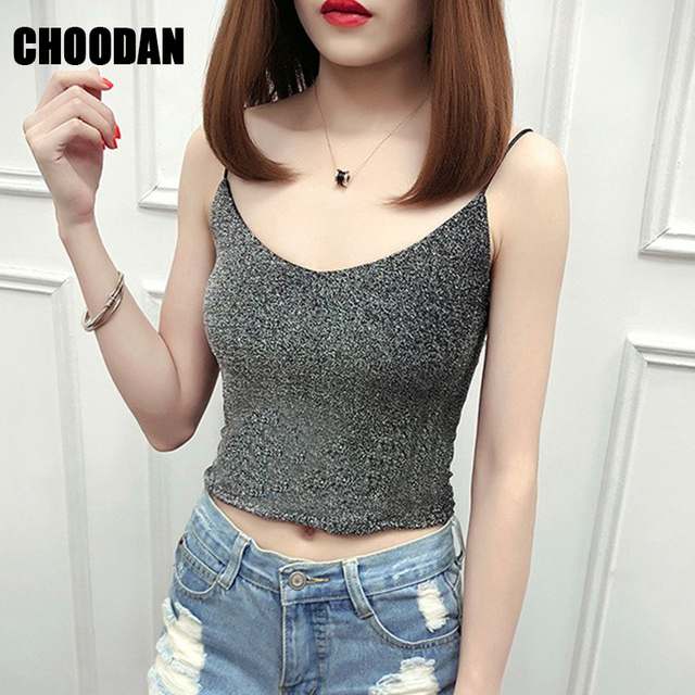 2c24a19da35 Mesh Women Blouse Sexy Sleeveless V-neck Crop Top Summer Fashion 2019 Korean  Style Short Shirts Basic Fitness Womens Clothing