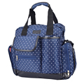 Functional Dots Diaper Bag Backpack For Mummy Maternity Women Messenger Bags Baby Care Nappy  Changing Mat Stroller Organizer