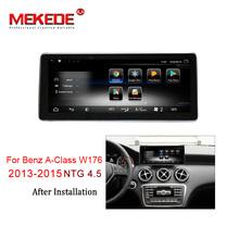 MEKEDE Car Multimedia Lettore 4G lte Android 7.1 3 + 32G Auto DVD radio player Per Mercedes BENZ UN CLA GLA W176 2013-2015 NTG 4.5