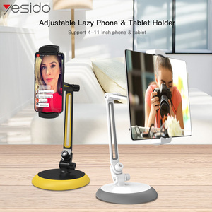Image 2 - Yesido C33 Universal Lazy Tablet Phone Stand Holder Flexible Desk Bed Mobile Phone Mount Holder For iPhone Samsung iPad Stand