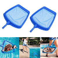 2Pcs Pool Cleaning Net Heavy Duty Leaf Rake Mesh Frame Net Skimmer Cleaner Swimming Pool Spa Tool #2Y28