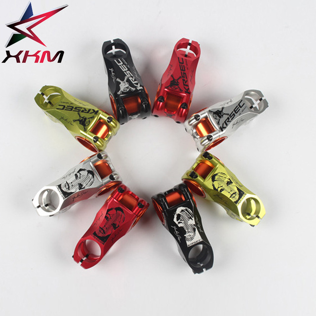 Aluminium Alloy Bicycle Stem Black Red Racing Cycle  35mm/31.8mm CNC Bike Stem MTB Mountain Road Handlebar Stems Bike Parts